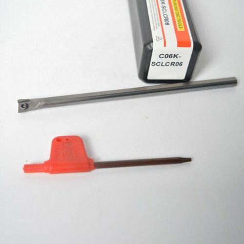 TS-C06K-SCLCR06 VHM Bohrstangen Halter Werkzeug Stange Für CCMT06 Wolframstahl