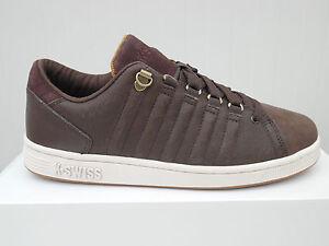 K-SWISS-Chaussures-Hommes-Cuir-Marron-Lozan-Iii-Baskets-3-de-sport-39