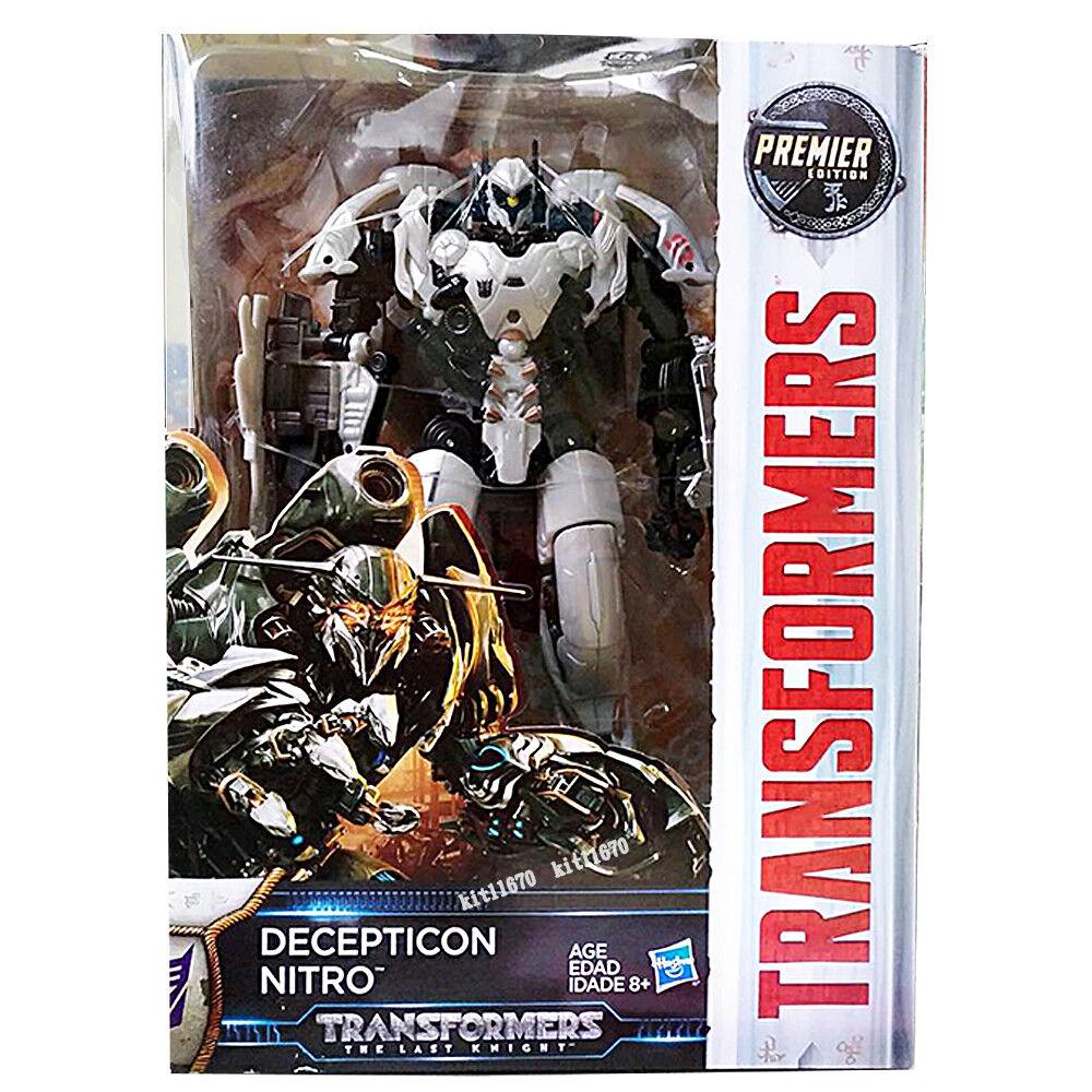 Transformers Last Knight Premier Edition Voyager Decepticon Nitro NEW