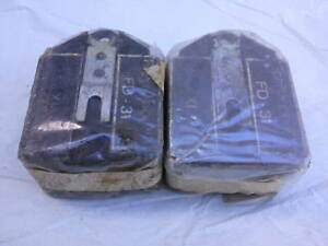 Alfa Romeo 105 series EARLY DUNLOP FRONT BRAKE PAD SET, NEW OLD STOCK