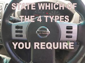 For-Nissan-Navara-D40-amp-Pathfinder-2005-15-Steering-Wheel-Stickers-Repair-Kit