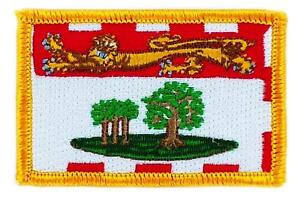 Patch-ecusson-brode-Drapeau-Ile-du-prince-edouard-FLAG-Thermocollant-CANADA