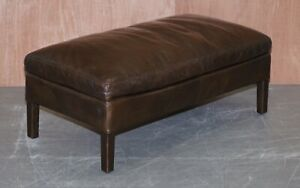 HALO-GROUCHO-FOOTSTOOL-IN-ANTIQUE-WHISKY-LEATHER-RETAILED-BY-JOHN-LEWIS