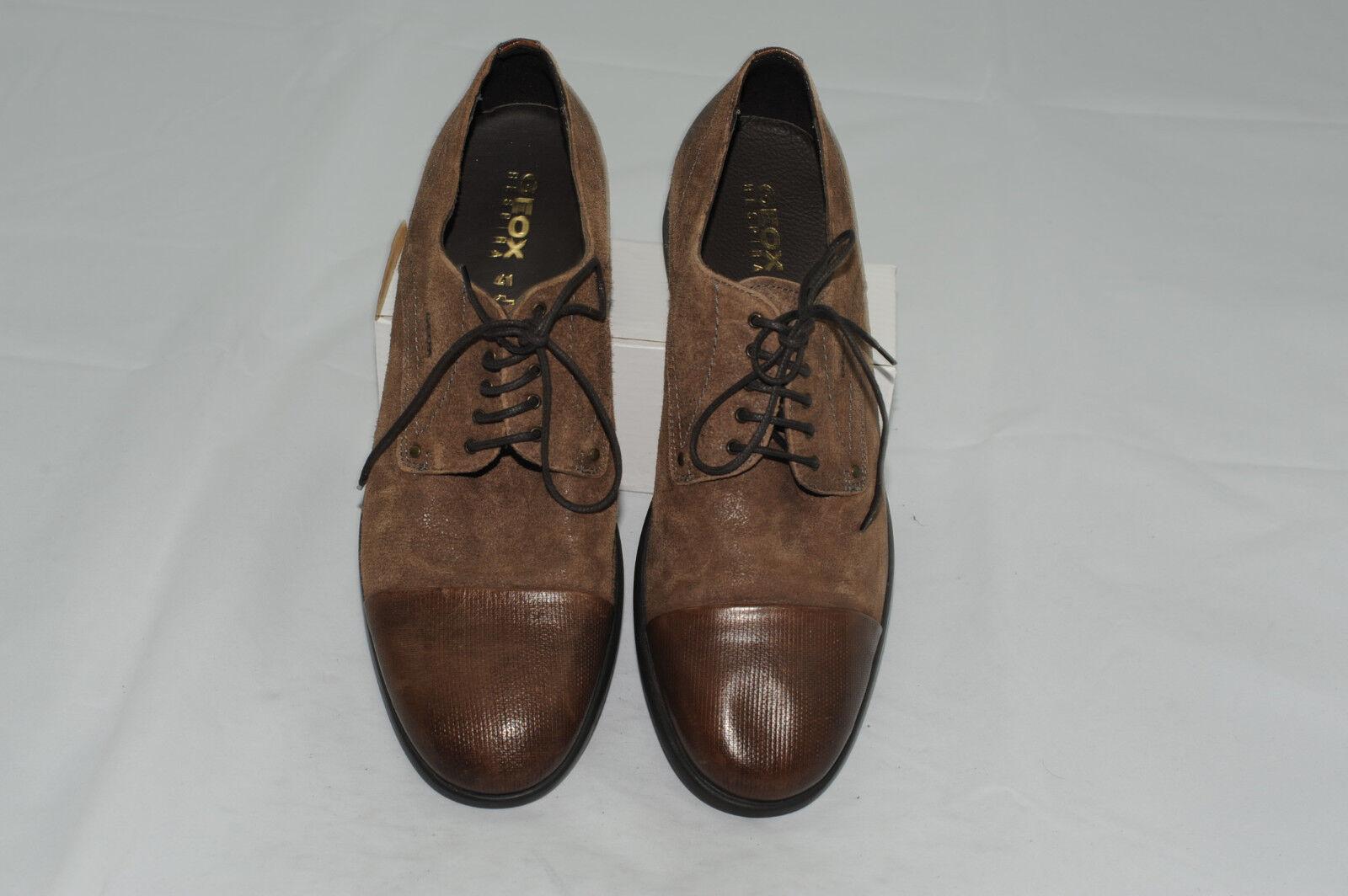 NWOT Geox Respira Men's Cap Toe Leather Oxford Dress shoes (US 8)