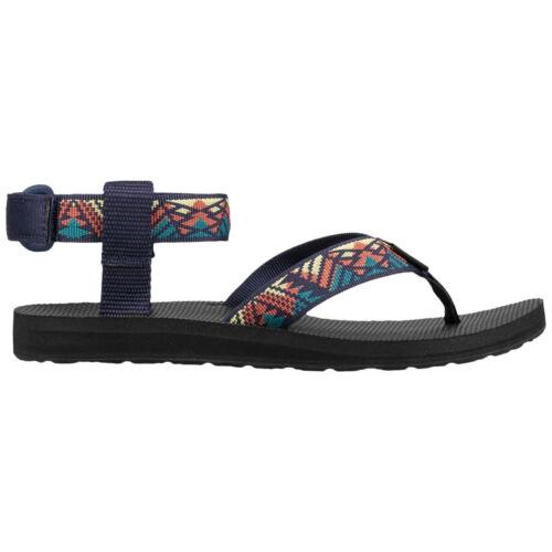 Teva Original Textile Casual Toe-Post Ankle-Strap Womens Sandals