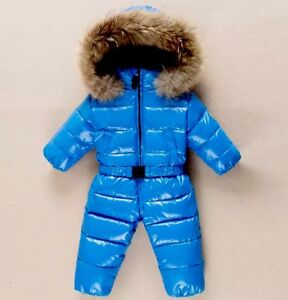fdaf162a7 NEW Baby Boys Duck Down Snowsuit