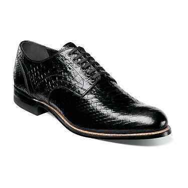 Stacy Adams Men/'s Madison Black Cap toe Shoes 00055-001