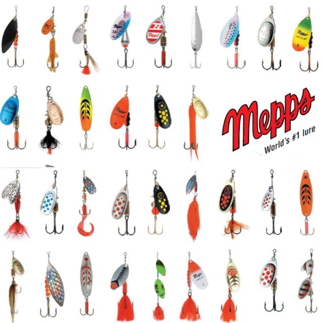 Mepps Aglia TW con Pesce Spinner-diverse dimensioni 1 pezzi
