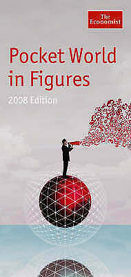 """AS NEW"" Pocket World in Figures 2008, The Economist, Book"