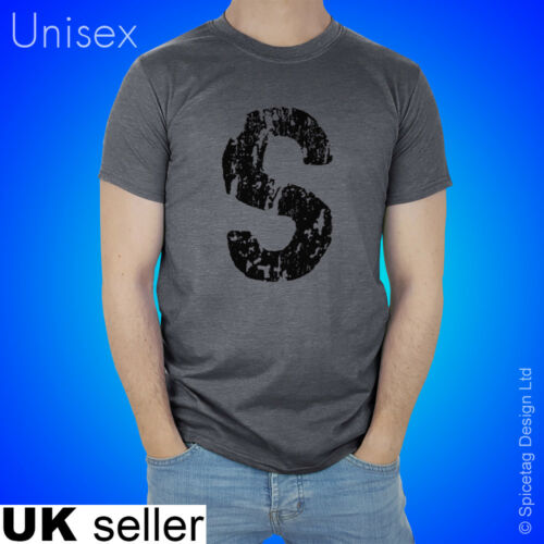 Retro Jughead T-shirt Decaying Worn Letter S Tshirt Serpent Short Sleeve T