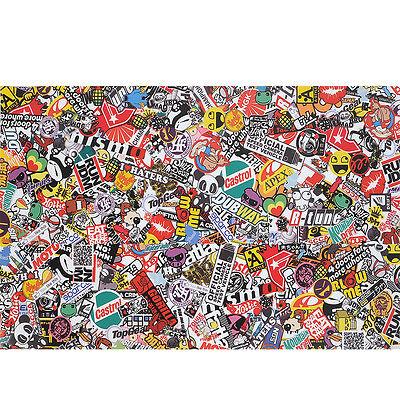 "30""x20"" PVC Sticker Bomb Graffiti Scrawl Sheet Decal For Auto Waterproof"