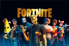 FORTNITE Battle Royale Art Poster Collection 4x6 11x17 17x25 NEW Set of 3