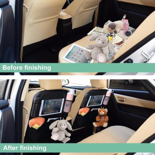 2 x Kindersitz Rückenlehnenschutz Unterlage Autositzauflage Sitzschoner Matte
