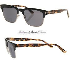 d0fab484023ca item 2 Tom Ford Sunglasses TF386 01D Wayfare Black Tortoise Grey Polarised  Half Rim New -Tom Ford Sunglasses TF386 01D Wayfare Black Tortoise Grey  Polarised ...