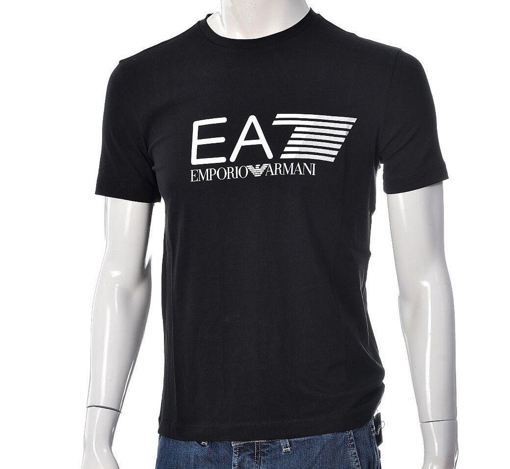 T-shirt Uomo Empori Armani EA7 3ZPT62 PJ03Z Maglia Cotone Nera Nera Nera Bianca Blu NUOVA 651e55