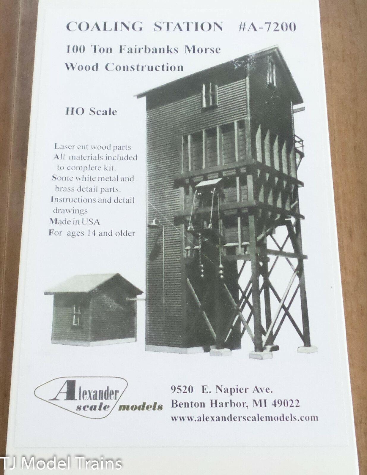 Alexander Scale HO  A-7200 Coaling Station