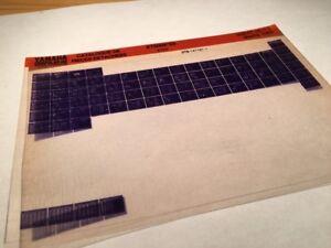 Yamaha-XT600K-1993-3YP5-Xtk-600-XT-Micro-Stecker-Teile-Liste-Katalog-Mikrofiche