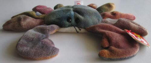 Claude the Crab Ty Dye Highly Sought After Beanie baby 1996 Great Condition