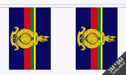 Royal Marines Bunting British Military 3 metre 10 flags
