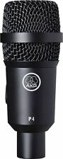 AKG Perception Live P4 Dynamic Instrument Mic Microphone Free US Shipping!