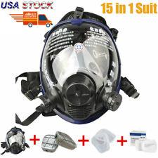 Facepiece Respirator Painting Spraying For 6800 Full Face Gas Mask Kit Set Us