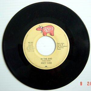 ONE-1977-039-S-45-R-P-M-RECORD-ANDY-GIBB-I-JUST-WANT-TO-BE-YOUR-EVERYTHING-IN-T
