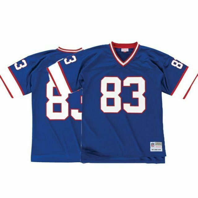 Andre Reed Buffalo Bills NFL Mitchell & Ness Men's Blue 1990 Home Legacy Jersey