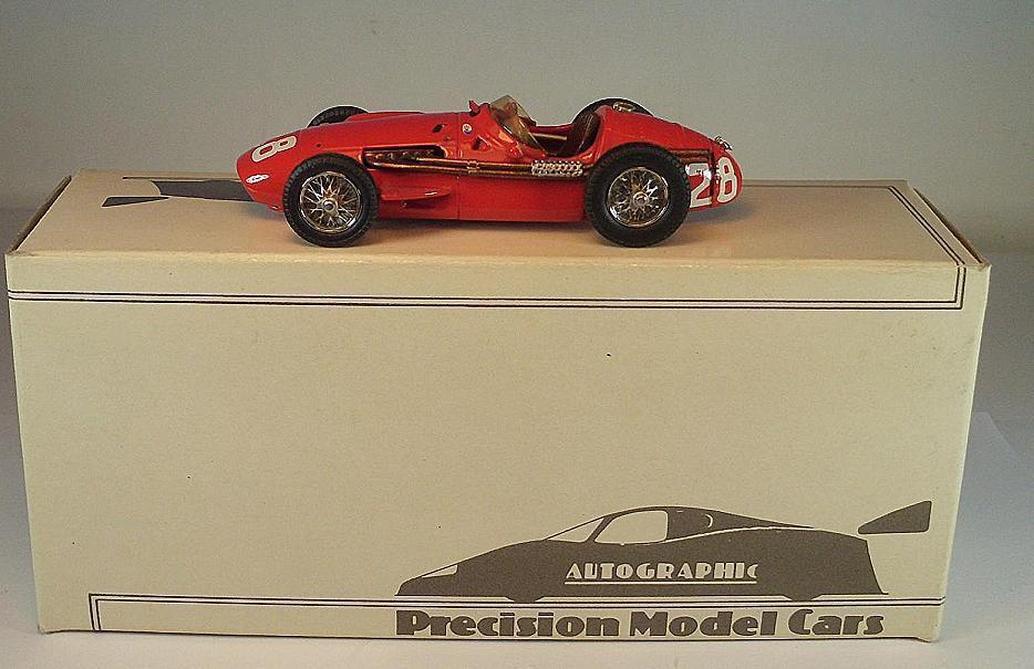 Autographic 1 43 Maserati 250 F Monaco G.P. 1956 RTMC5 OVP  035