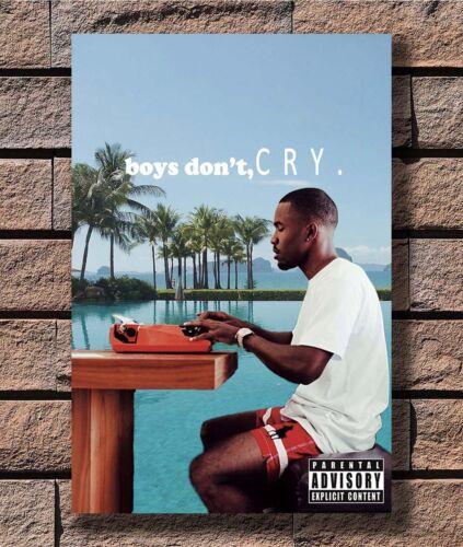 Frank Ocean Boys Don't Cry Rapper Music Star T-2291 Art Poster 24x36 27x40