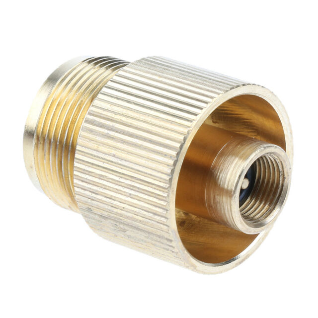 Propane Tank Refill Adapter 1lb LP Gas Cylinder Coupler BBQ Camping Grill