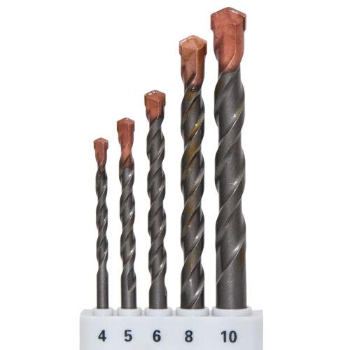8 5 6 5 tlg Betonbohrer Set für PROFI Ø 4 10 mm