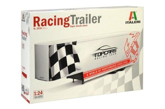ITALERI RACING TRAILER - KIT MONTAGGIO 1/24 - No 3936