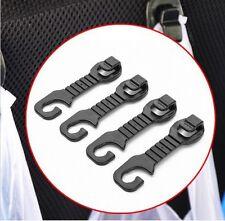 4x Car Seat Headrest Carrier Bag Hook Curry Takeaway Handbag Shopping Beer Hooks