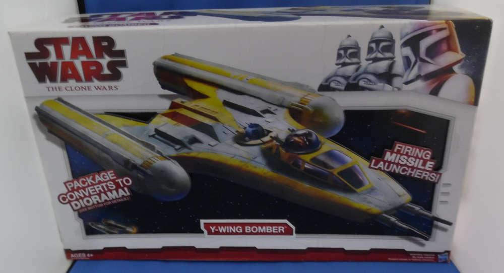 Estrella Wars Clone Wars Y-wing Bomber MIB sin usar
