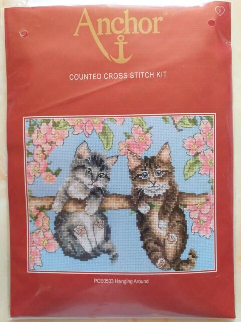 Brand New Anchor Counted Cross Stitch kit. 'Hanging Around'