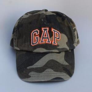 2d150033dd958 GAP Camo Baseball Cap Hat Size L XL Adjustable Strapback