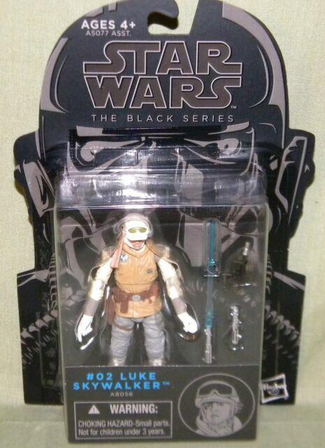"Star Wars The Black Series Blue 3.75/"" #02 Luke Skywalker Hoth 2014 Hasbro"