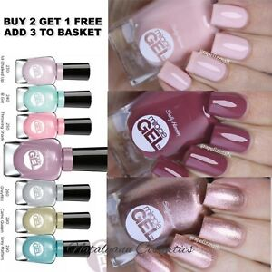 Details about Sally Hansen MIRACLE GEL for Nails - NO UV LAMP REQUIRED -  BUY 2 GET 1 FREE