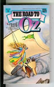 THE-ROAD-TO-OZ-by-L-Frank-Baum-rare-Del-Rey-1st-fantasy-pulp-vintage-pb-book-5
