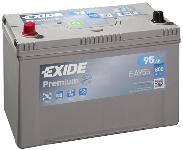 Batteria Exide EA955 12v 95ah 800A 306x173x222mm varta G8