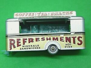 Matchbox-Lesney-No-74a-Mobile-refresco-Cantina-raro-mar-verde-Base