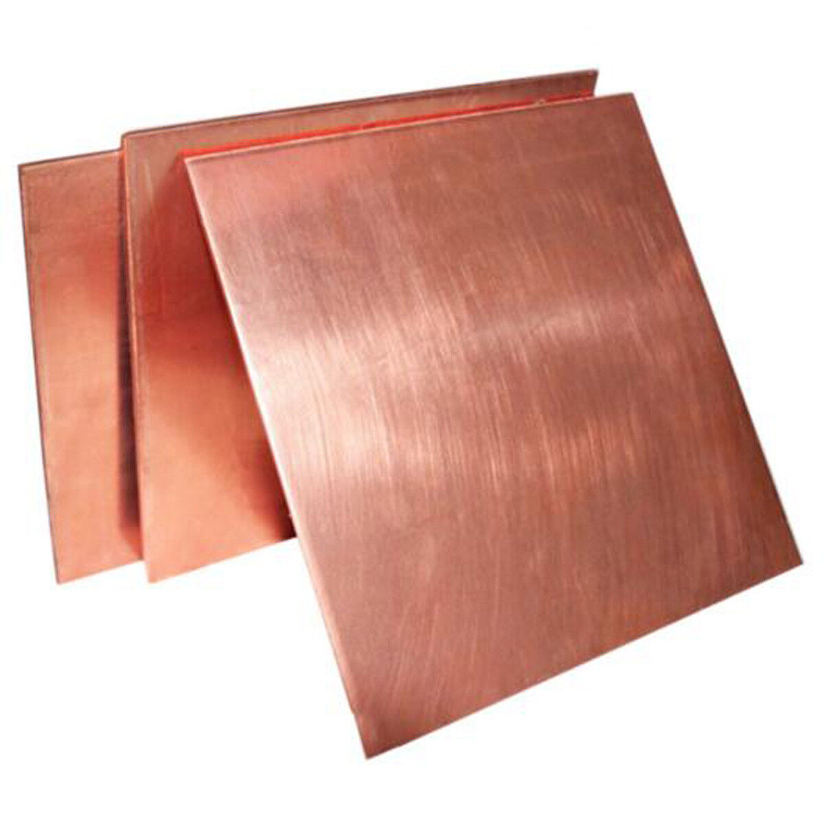 Select Thick 2.0mm - 3.0mm Copper Sheet Plate Guillotine Cut Metal Copper Sheet