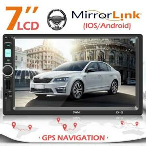 7-039-039-Autoradio-Navigation-mit-Doppel-2DIN-GPS-Navi-Bluetooth-USB-MP5-FM-Player