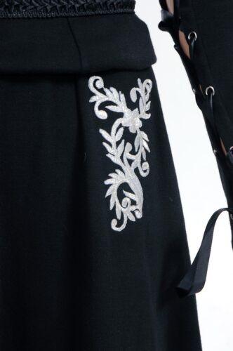 Harry Potter Bellatrix LeStrange Black Dress Cosplay Party Event Costume Show
