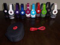 Beats Solo HD Beats by Dr. dre Compact Folding On-Ear Genuine Headphones
