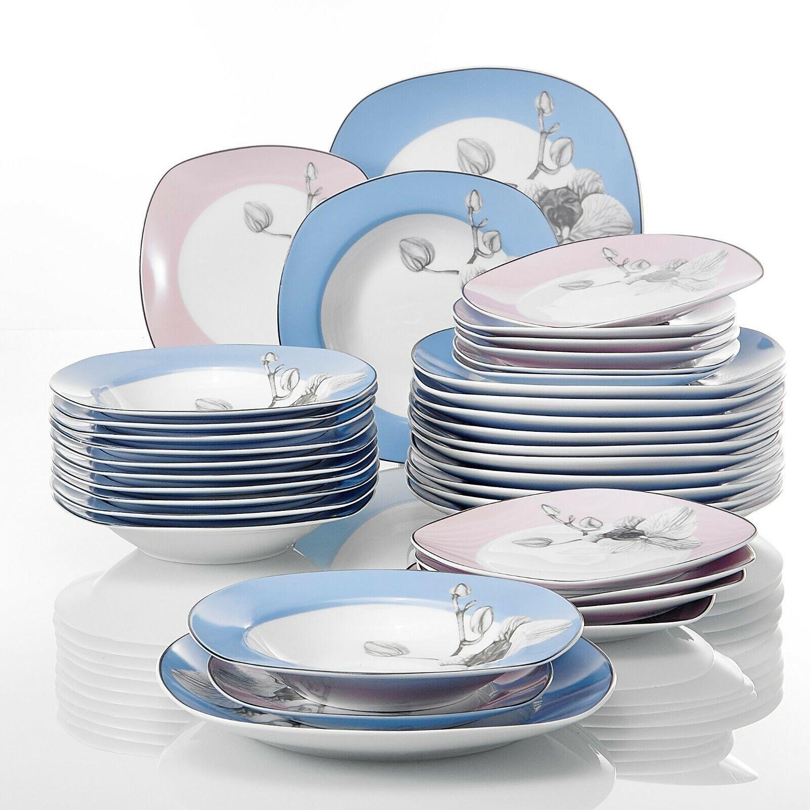 VEWEET Tafelservice 'Debbie' Porzellan 36 teilig Tellerset Tellerset Tellerset für 12 Personen | Luxus  15ee58