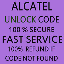 ALCATEL UNLOCK CODE FOR ALCATEL 2010X SFR FRANCE