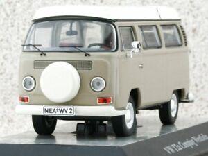 VW Volkswagen T2a Camping - Westfalia - beige - Premium Classixxs 1:43