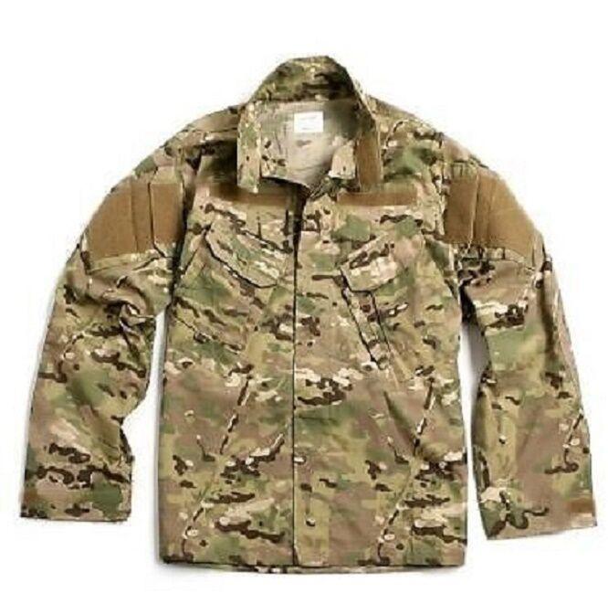 US Army Multicam FR Acu Defender OCP giacca coat fatto USA XLXL Xgree Xlungo
