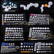 Plastic Gears Pulley Belt Worm Diy Rack Kits Crown Gear 11345875 Kinds L3us